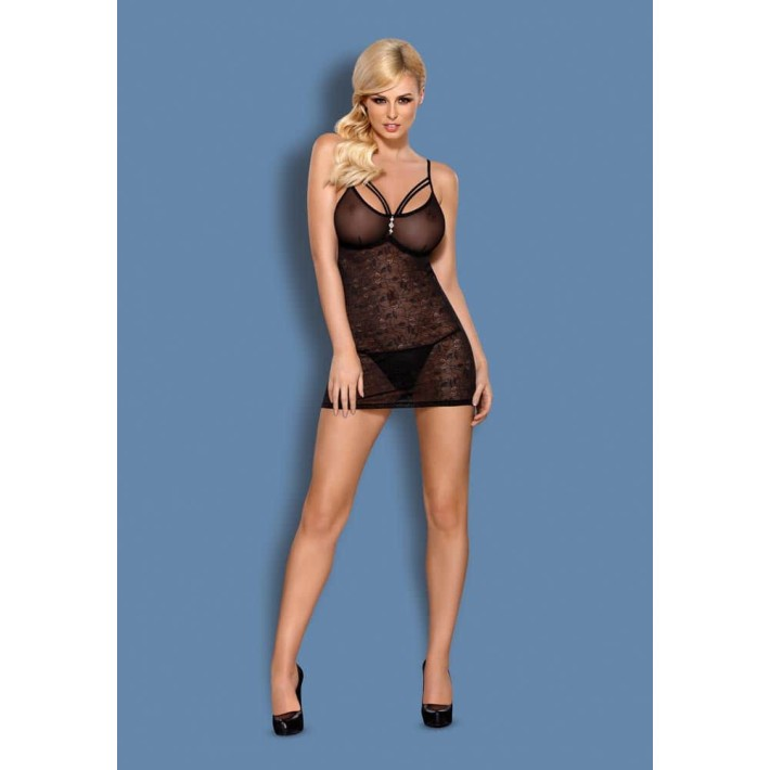 Babydoll Sexy Si Chilotei String S-m